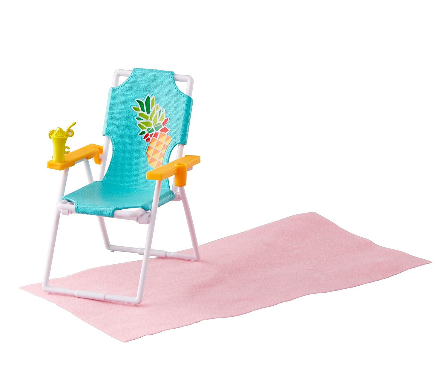 Beach Chair Accessories Toddler Chairs And Table Ken Doll Barbie Fashion Sisters Crayola