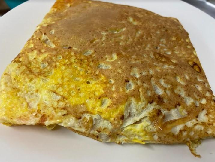 resipi telur bungkus, menu mudah untuk makan malam, lauk kegemaran anak-anak