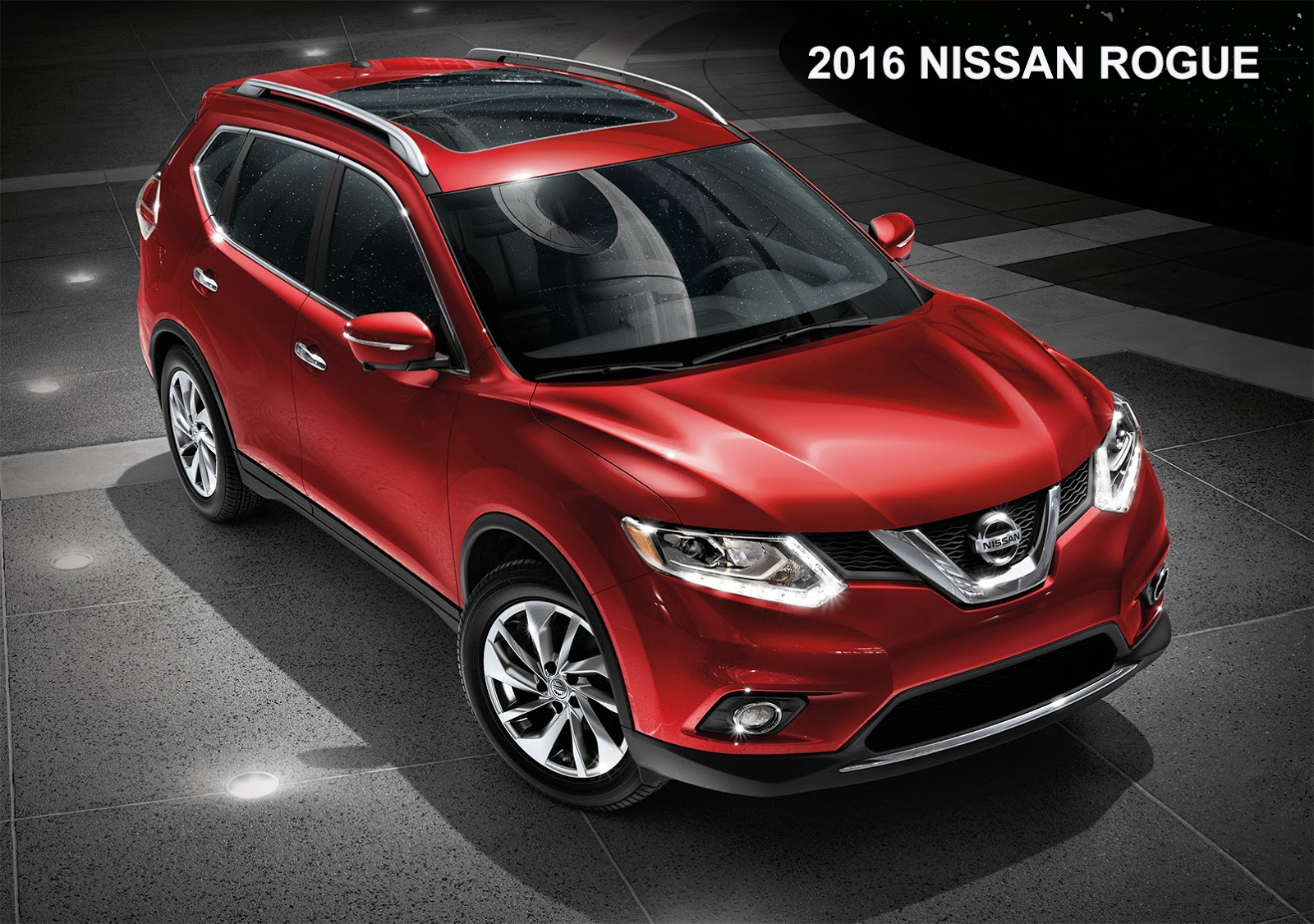 2017 nissan rogue facelift apparently makes early appearance in ad. Black Bedroom Furniture Sets. Home Design Ideas