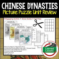 Chinese Dynasties, World History Test Prep, World History Test Review, World History Study Guide, World History Games, Ancient World History Bundle, Ancient World History Curriculum