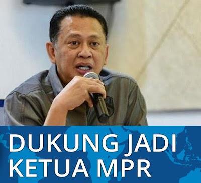 Bamsoet Didukung Seluruh Fraksi Jadi Ketua MPR Termasuk PKS