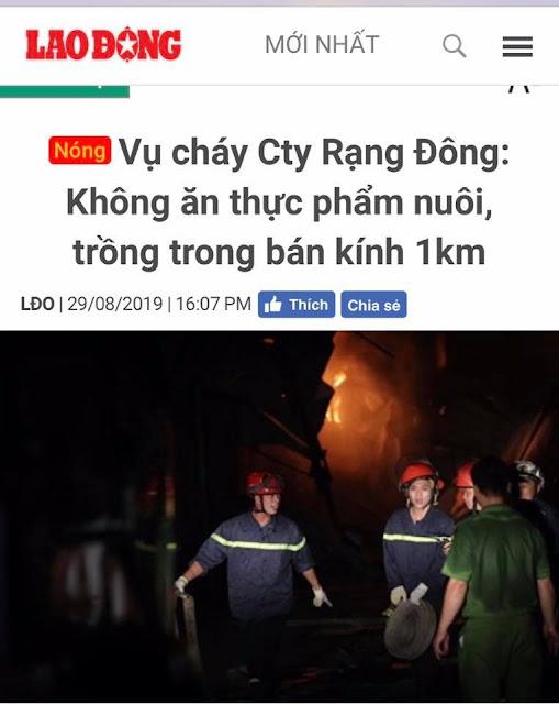 Tránh xa vụ cháy 21km?
