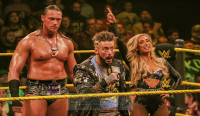 NXT Takeover Brooklyn featuring Carmella