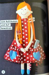 Детский органайзер кукла