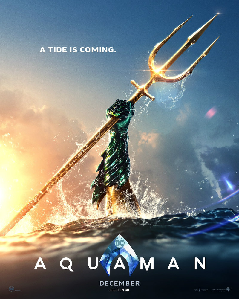 aquaman trident artwork