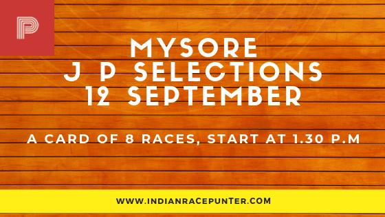 Mysore Jackpot Selections 12 September