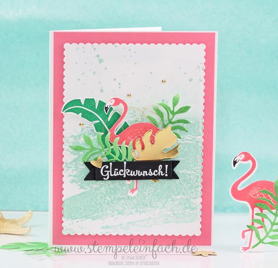 Flamingo-Stampin up