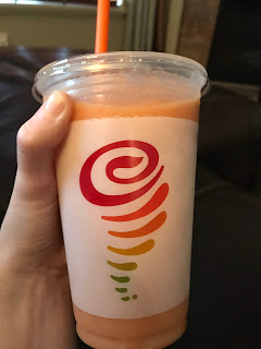 vegan smoothies at jamba juice