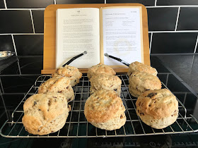 Christmas Pudding Scone