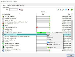 Windows 10 Firewall Control :  Ελέγξτε την δραστηριότητα των εφαρμογών του υπολογιστή σας στο διαδίκτυο