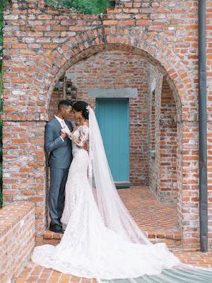 bride and groom at casa feliz