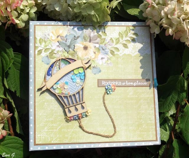 Dziecięcy album z papierów Craft o'clock