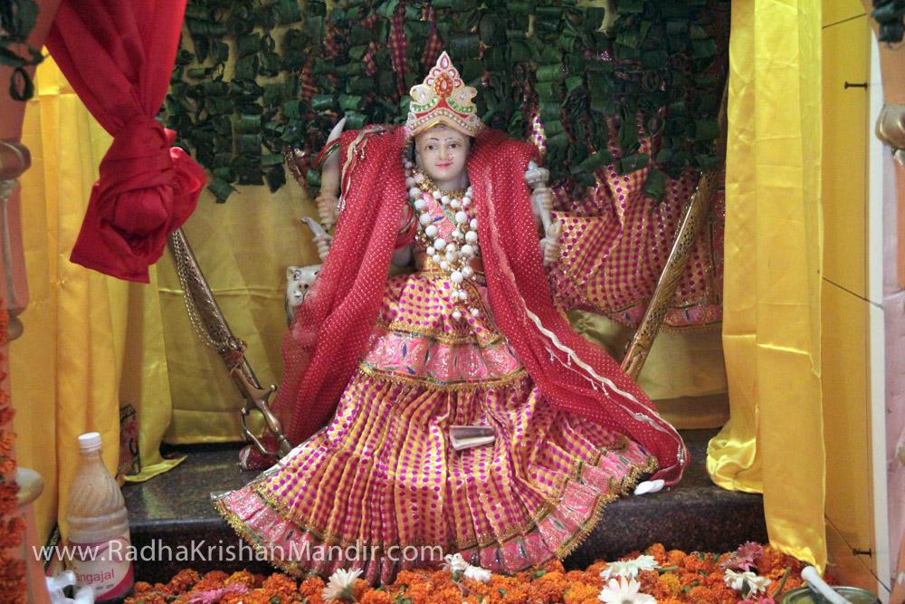 hindu god krishna and radha
