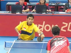 TOKOH ATLET TENIS MEJA INDONESIA DAVID JACOBS