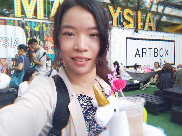 ArtBox Kuala Lumpur 2018 at Sunway City open air car park