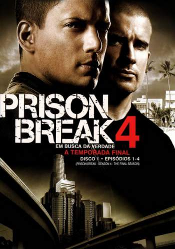 Prison Break 4ª Temporada Torrent - BluRay 720p Dublado