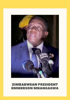 Bom meledak di sebelah Presiden Zimbabwe Emmerson Mnangagwa saat kampanye.