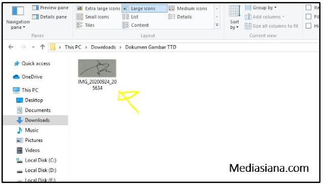 Cara Scan Dokumen Secara Online