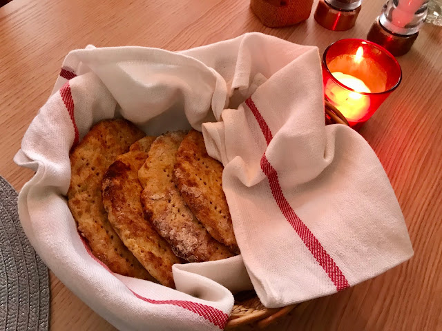 Finnish potato flatbread, perunarieska