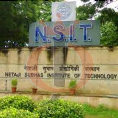 NSIT Recruitment 2021