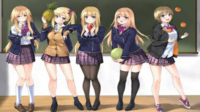 Mirip Go Toubun, LN Gonin-Hitoyaku demo Kimi ga Suki Menceritakan Kisah Romcom Kembar 5