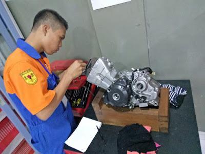 Honda Mechanic Skill Contest SMK Kepri