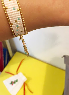bracelet tissé DIY