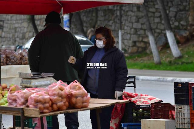 Αυτοί οι παραγωγοί θα στήσουν πάγκο στη λαϊκή αγορά του Ναυπλίου το Σάββατο 21/11