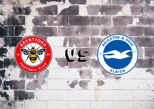 Brentford vs Brighton & Hove Albion  Resumen