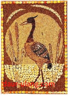 Gambar Kolase Hewan Dari Biji Bijian : gambar, kolase, hewan, bijian, Kreatif, Pigura, Bijian, Mudah, Dibuat, Ulang