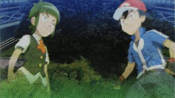 Capitulo 34 Temporada 19: ¡Combate completo de semifinales! ¡Ash contra Sawyer!