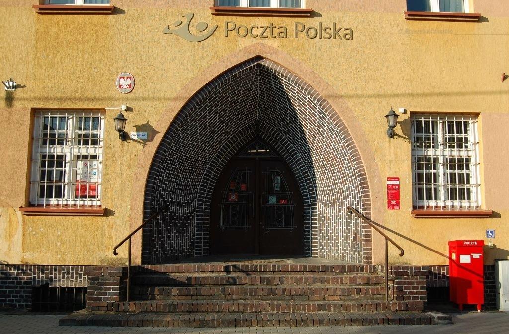 Lidzbark Warmiński, drzwi poczty