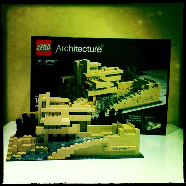 Green Pear Diaries - Lego architecture Fallingwater 1