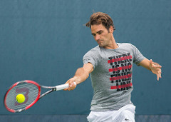 Roger Federer at Cincy Open