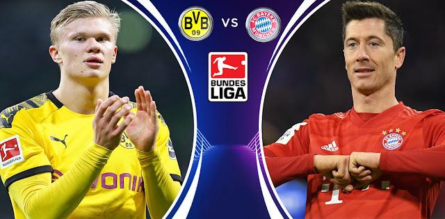Borussia Dortmund vs Bayern München Prediction Line-Ups