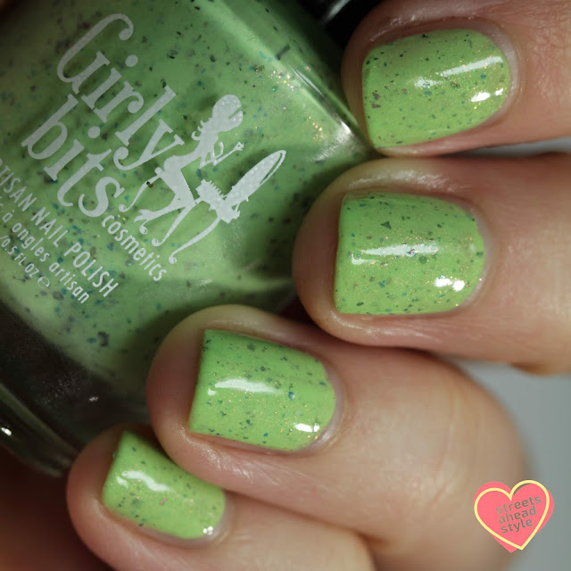 Girly Bits I Beg Your Garden swatch by Streets Ahead Style