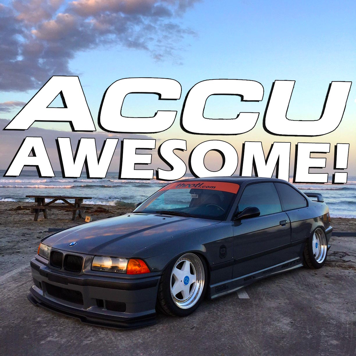 AccuAwesome How Why We Bagged Our BMW E M Throtl - Awesome bmw