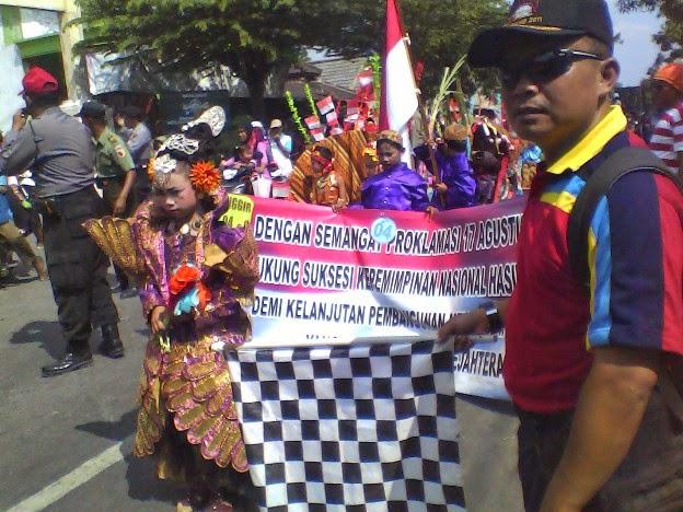SDN Tanggir pada Karnaval Kecamatan Singgahan Tuban tahun 2014