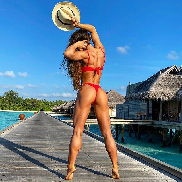 Michie Peachie Fitness Motivation Top Instagram Model Palmtube 1
