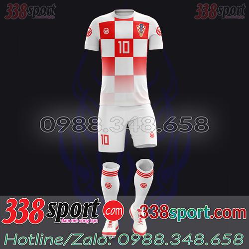 Áo Đội Tuyển Croatia Đặt May Theo Yêu Cầu - Mã CROATIA 04