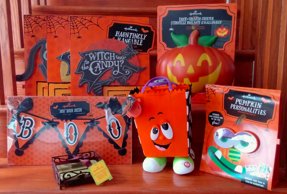 Hallmark Halloween decor