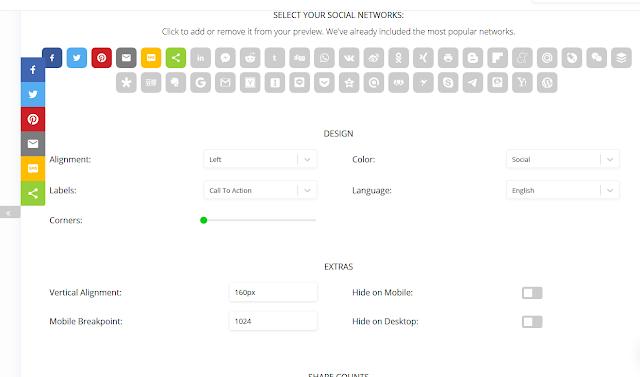 Cara Memasang Sharethis Social Sharing Button Di Blogspot