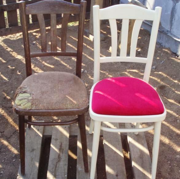 как отреставрировать стул