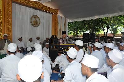 Hadiri Majelis Dzikir Al-Hikmah, Bupati Trenggalek Sampaikan Beberapa Hal