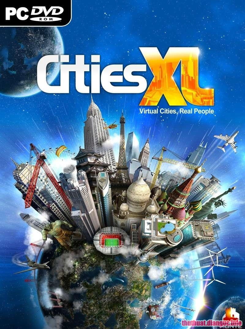 Download Game Cities XL 2012 – RELOADED Full crack
