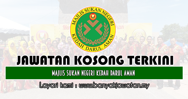 Jawatan Kosong 2019 di Majlis Sukan Negeri Kedah Darul Aman