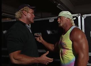 WCW Uncensored 2000 - Sid Vicious and Hulk Hogan talk backstage