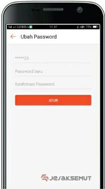 cara atasi lupa password shopee