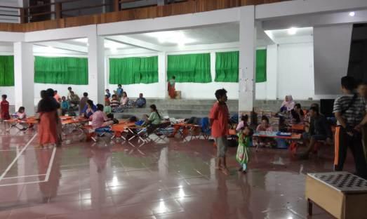 Pemerintah Kab. Kep. Selayar, Jadikan GJ 45 Sebagai Lokasi Pengungsian