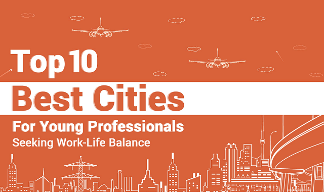 Top 10 Cities For Young Professionals Seeking Work-Life Balance